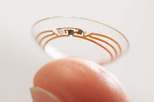 Google's Smart Contact Lense