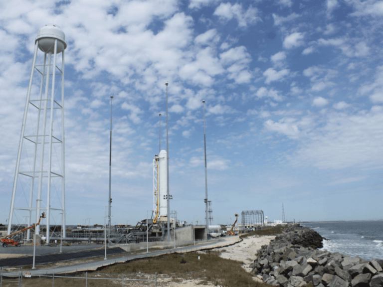 Watch The Failed Launch Of The Antares Rocket