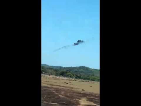 Stunt Plane Crashes In Malaysia