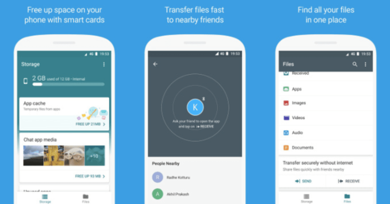 Google's Files Go App Is Now Available On Google Play Store