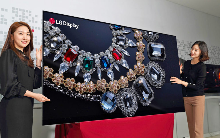 LG Unveils Worlds Highest Resolution 8K OLED Screen